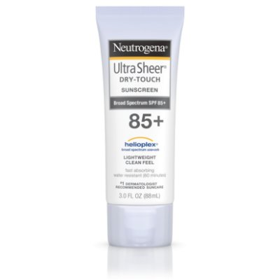 Neutrogena Ultra Sheer Dry-Touch Water Resistant Sunscreen SPF 85