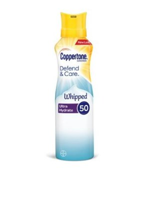 Coppertone Defend & Care Ultra Hydrate Whipped Sunscreen SPF 50