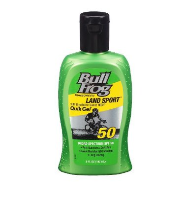 Bull Frog Land Sport Quik Gel Sunscreen - SPF 50