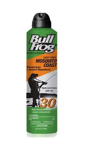 Bull Frog Mosquito Coast Spray Sunscreen with Insect Repellent