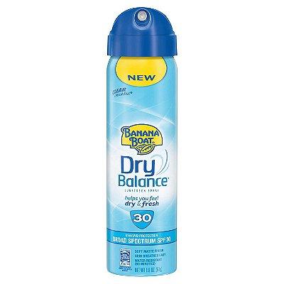 Banana Boat Dry Balance Broad Spectrum Sunscreen Spray - SPF 30