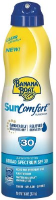 Banana Boat Sun Comfort Sunscreen Spray SPF 30
