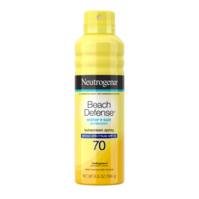 Neutrogena Beach Defense Oil-Free Body Sunscreen Spray SPF 70