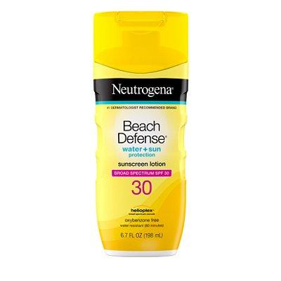 Neutrogena Beach Defense Body Sunscreen Lotion with SPF 30