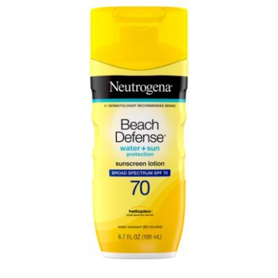 Neutrogena Beach Defense Body Sunscreen Lotion with SPF 70