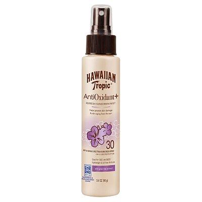 Hawaiian Tropic Antioxidant Plus Sunscreen Mist - SPF 30