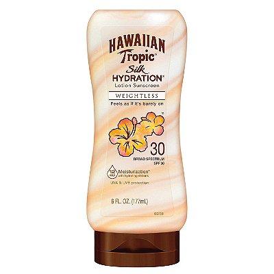 Hawaiian Tropic Silk Hydration Weightless Sunscreen Lotion - SPF 30