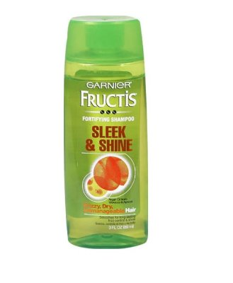 Garnier Fructis Sleek & Shine Shampoo for Dry & Frizzy Hair