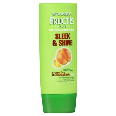 Garnier Fructis Sleek & Shine Conditioner, Frizzy, Dry, Unmanageable Hair