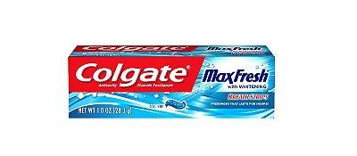 Colgate Max Fresh Fluoride Toothpaste Travel