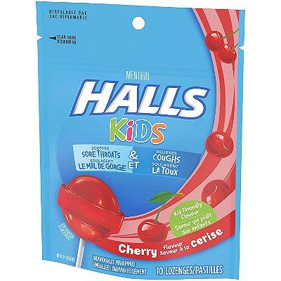 Halls Kids' Cough & Sore Throat Pops