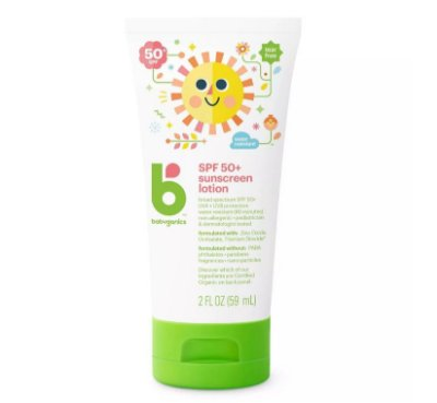 Babyganics Sunscreen Lotion - SPF 50
