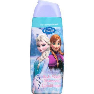 Disney Frozen 3 in 1 Body Wash, Shampoo Conditioner