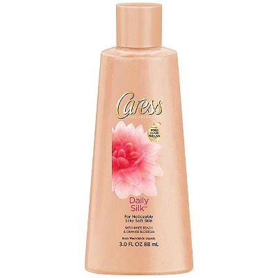 Caress Daily Silk White Peach & Silky Orange Blossom Body Wash
