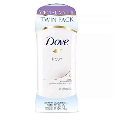 Dove Fresh Antiperspirant Deodorant Twin Pack