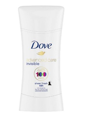Dove Invisible Advanced Care Sheer Fresh Antiperspirant Deodorant