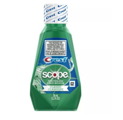 Crest Scope Classic Mouthwash Original Formula