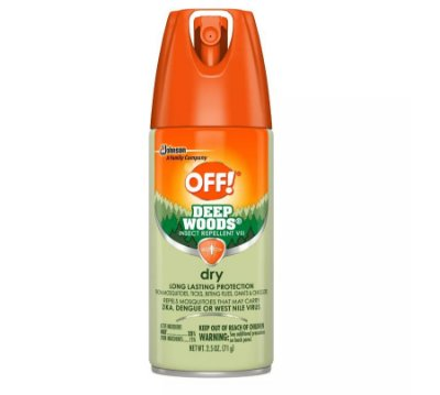 OFF! Deep Woods Insect Repellent VIII Dry