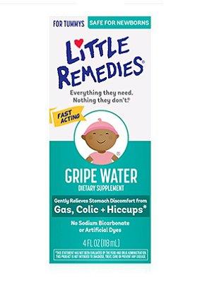 Little Remedies Gripe Water, Safe for Newborns