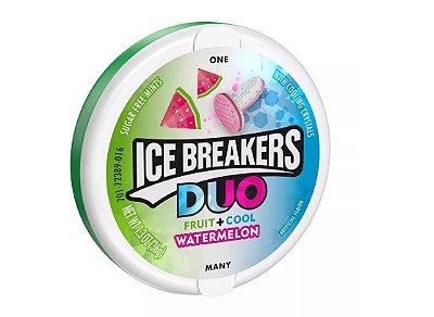Ice Breakers Duo Watermelon Sugar Free Mint Candies