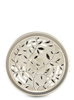 Silver Vines Vent Clip Scentportable Holder