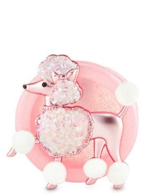Fancy Poodle Visor Clip Scentportable Holder