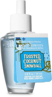 Frosted Coconut Snowball Wallflowers Fragrance Refill