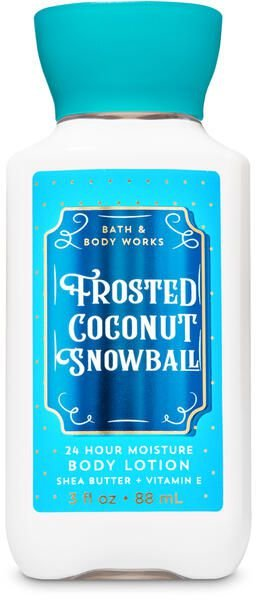Frosted Coconut Snowball Travel Size Body Lotion