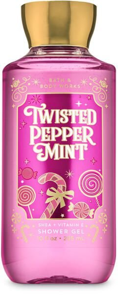 Twisted Pepeprmint Shower Gel