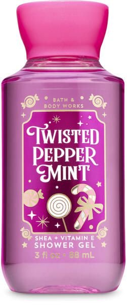 Twisted Peppermint Travel Size Shower Gel