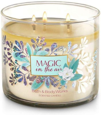 Bath and Body Works White Barn Magic In The Air 3 Wick Candle