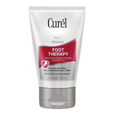 Curél Foot Therapy Cream, Soothing Cream for Dry & Cracked Feet