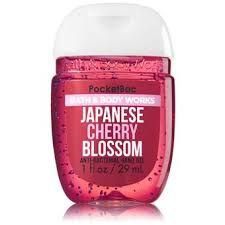 Japanese Cherry Blossom Pocketbac Anti-Bacterial Hand Gel