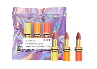Pat McGrath Labs Lust Mini MatteTrance Lipstick Trio