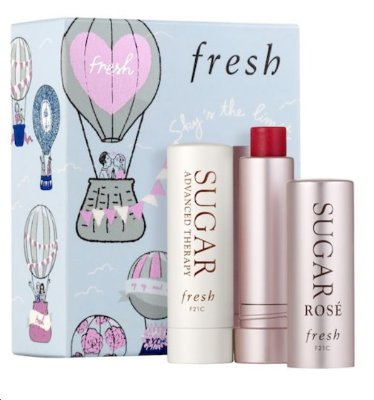 Fresh Sugar Lip Moisturizing Duo Gift Set - Edição Limitada