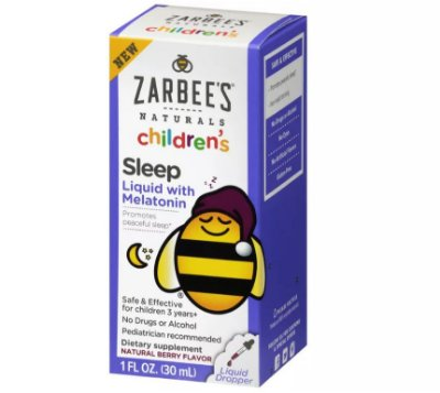 Zarbee's Naturals Children's Sleep Liquid with Melatonin