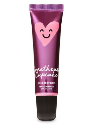 Sweetheart Cupcake Shimmer Lip Gloss
