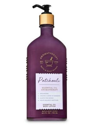 Aromatherapy Patchouli Essential Oil Body Lotion