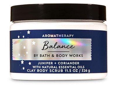 Aromatherapy Juniper Coriander Clay Body Scrub