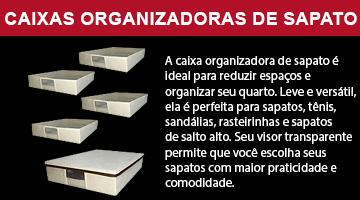 Caixas Organizadora de sapatos