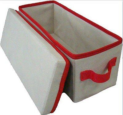 Caixa Organizadora 14x15x38cm - com tampa