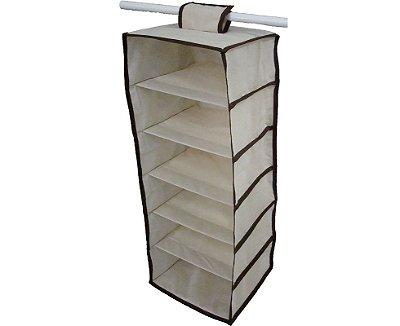 organizador para guarda roupa  cabideiro sapateira  vertical