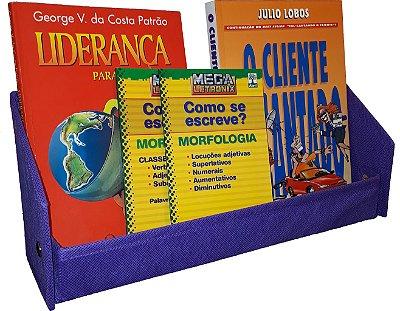 Revisteiro Prateleira Montessoriano em Tecido