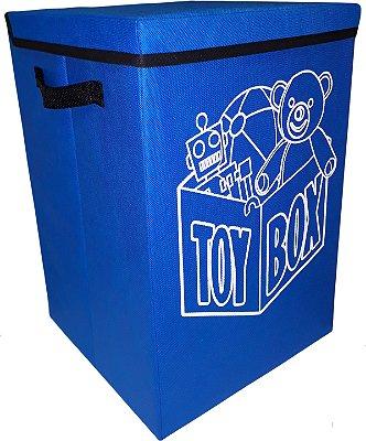 Cesto baú porta brinquedo infantil montessoriana