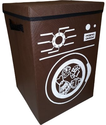 Cesto de roupa suja dobrável lavanderia