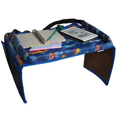 Mesinha infantil portátil para carro carrinho e cadeirinha