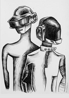 "Print ""Daft Punk"" - 2021"