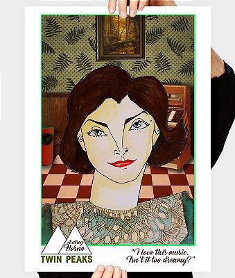 """Pôster """"Audrey Horne"""""""