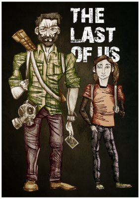"""Pôster """"The Last of Us"""""""