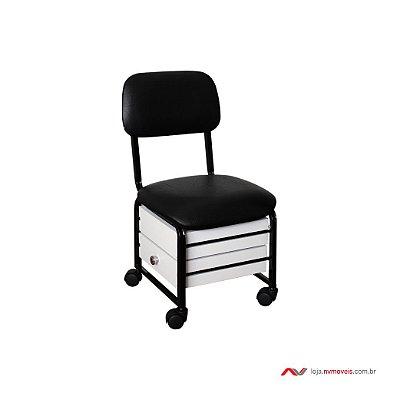 Cadeira Cirandinha Firenze - 2 gavetas